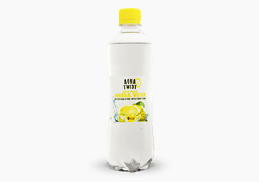 Aqua Twist Sparkling mineral water with a touch of lemon 0.5 liter