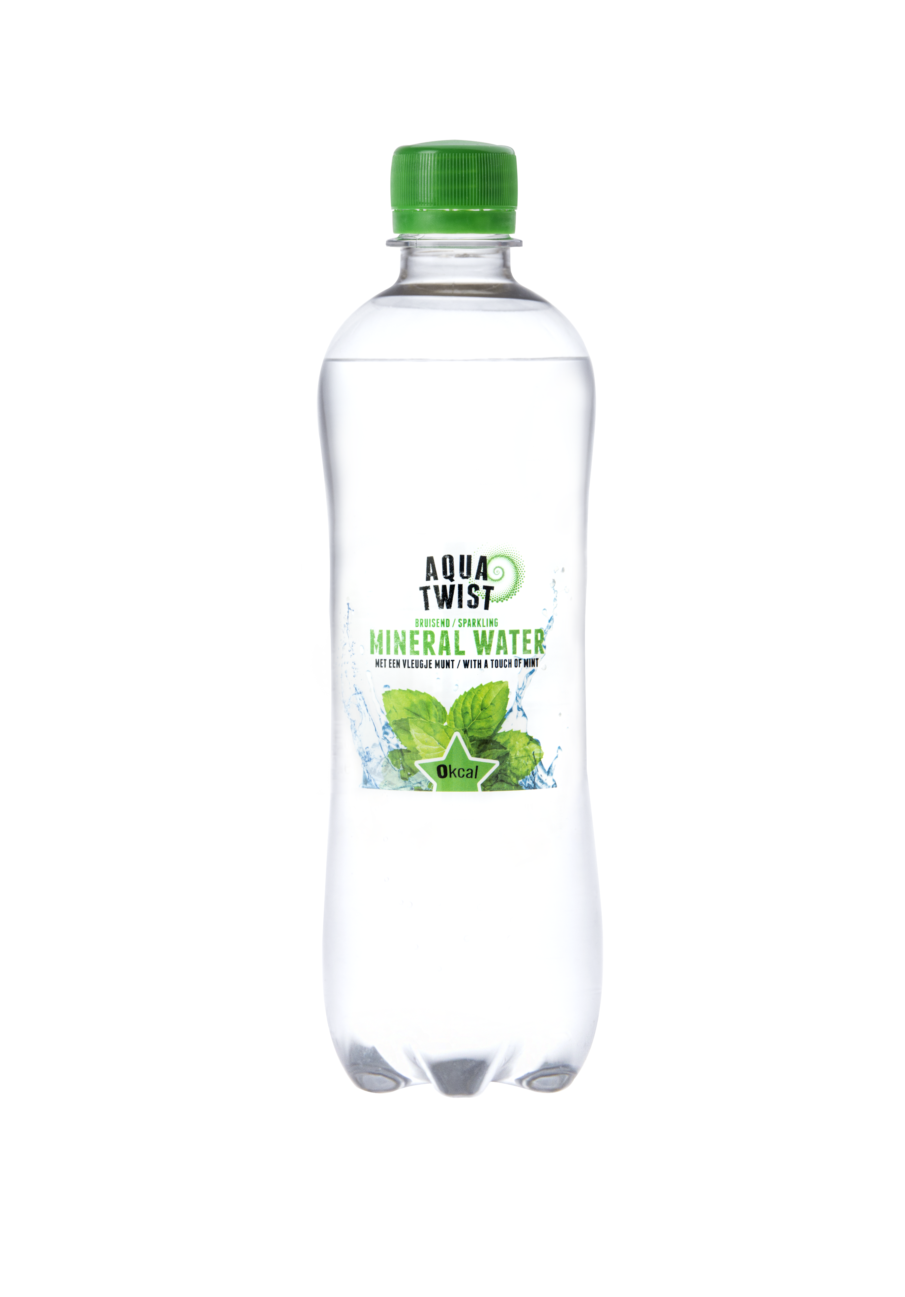 Aqua Twist Sparkling mineral water with a touch of mint 0.5 liter