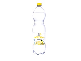 Sparkling mineral water with a touch of lemon 1,5 liter