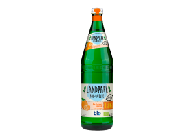 Landpark Bio-Bron sparkling lemonade with orange flavor 0,75L