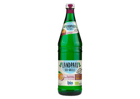 Landpark Bio-Bron sparkling lemonade with orange-passionfruit flavor 0,75L