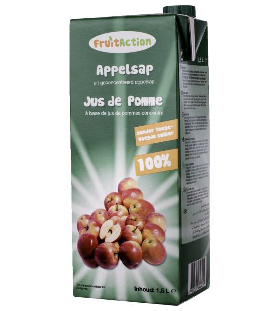 Fruit Action Apple juice 1,5 liter